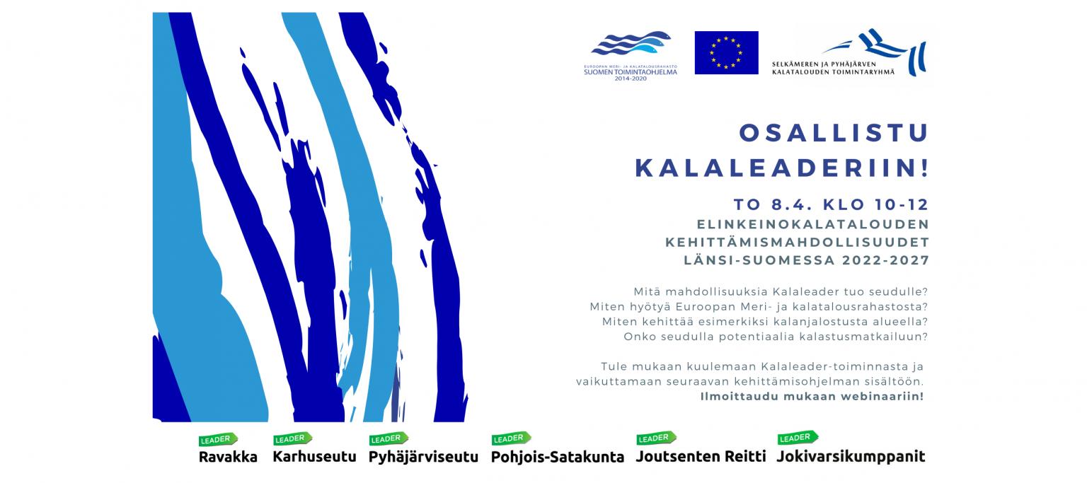 Osallistu Kalaleaderiin! ilmoitus